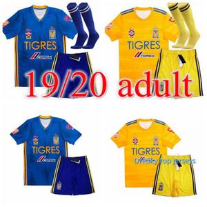 7 스타 19 20 NAUL Tigres UANL 축구 유니폼 2019 Camiseta de Foot Maillot