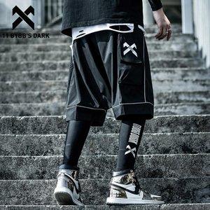 11 BYBB buio riflettente Hip Hop Mens Shorts 2020 Estate tattica del ginocchio lunghezza maschio pantaloni di scarsità di jogging Streetwear Cargo Shorts T200620
