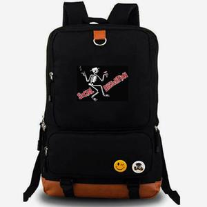 Zaino Social Distortion Road zombie daypack Metal rock band best laptop schoolbag Zaino per il tempo libero Borsa da scuola sportiva Outdoor day pack