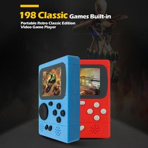 ALLOYSEED 2.4 inch TFT Video Game Console Portable Pocket Game Player Built-in 198 Classic Games