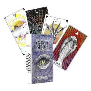 الإنجليزية التارو سطح السفينة لالبرية غير معروف الحيوان الروح الدليل بطاقات التارو لعبة المجلس لعب لعبة بطاقة لحزب العائلة