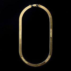 Заявление засады YOUNG елочки ожерелье Совместного письмо Подвеска хип-хоп ювелирные изделия Прохладного красавцы Женщина Bijoux партия подарки