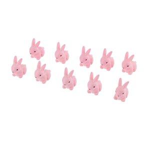10шт миниатюрный мультфильм Кролик кукольный домик бонсай сказочный сад пейзаж декор