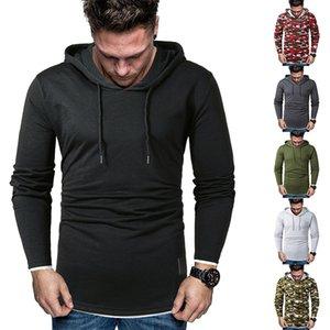 Mens 2020 Luxury Designer Hoodies Plus Size Fashion Panelled Casual Hooded Sweatshirts Slim Pullover Male Clothing