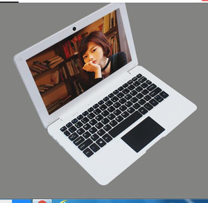10,1 polegadas Laptop 1366 * 768 WIN10 Netbook Intel Z8350 / N3450 Quad-core Tablet PC 2G 32G / BT HDMI branco Computador Notebook
