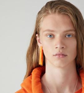 AMBUSH nobo clIp earring Hip hop fashion accessories for men and women