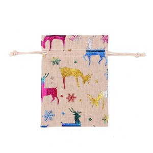 Schmuck Drawstring Bag Durable Sack Weihnachten Eco Friendly Bundle Pocket Fashion Verschleißfest mit hoher Qualität 0 8rh2 J1