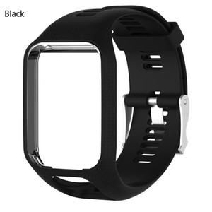Colorful Silicone Watchband for TomTom Runner 2 3 Spark 3 Adventurer wrist Strap Smart Band Accessories Sport Replacement Bracelet Strap