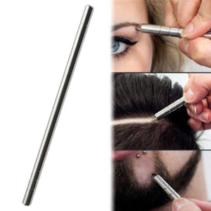 Professional Magic Engrave Beard Hair Scissors Eyebrow Carve Pen Tattoo Barber Hairdressing Scissors Eyebrow Oil Head Carving