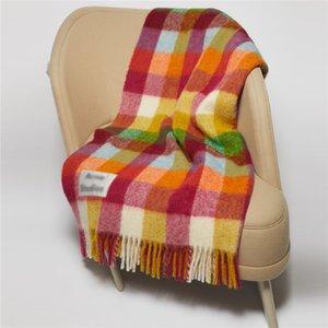 AC Classic Plaid Warm Shawls Novelty Tassel Wrap Shawls Women Fashion Scarf Shawl Lady Soft Colorful Shawl Scarf