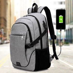 LOOZYKIT Uomini-zaino di marca 15.6 Inch Laptop Notebook Mochila Maschio impermeabile Back Pack Backbag scuola zaino 32 * 18 * 48CM T200326