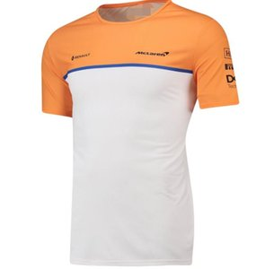 반소매 T 셔츠 경주 정장 통기성 땀 2020 뜨거운 판매 새로운 F1 맥라렌 맥라렌 남자의 라운드 넥 T 셔츠 스포츠