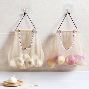 Sacs de cordon de serrage Sacs de rangement suspendus réutilisables multifonctionnels Sacs de sac de cordon pour le stockage de produits cosmétiques à la maison de cuisine