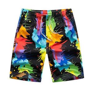 Casal Swimwear das mulheres dos homens de poliéster Board natação shorts de ginástica Sports executando Surf Shorts Praia da mulher do homem Quick Dry Swimwear