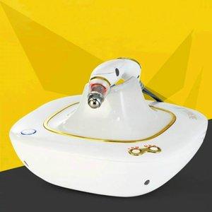 Alta qualidade !!! Olhos dourados Eliminar Caring Rugas beleza dos olhos e Ark círculos rugas remoção RF Eye Massager Máquina