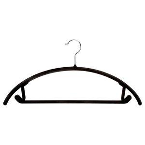 Beflockung Kleiderbügel Rutschfest Winddicht Kleiderbügel Drehhaken Kunststoff Kleiderbügel Keine Spur Hose Kleiderbügel Kleiden Unterstützung Rack DBC VT0401