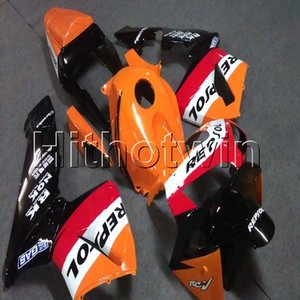 23colors + Botls Инъекция плесени Repsol оранжевого мотоцикл обтекатель для HONDA CBR600RR 2003-2004 F5 мотоцикла 03 04 ABS обтекателя корпуса