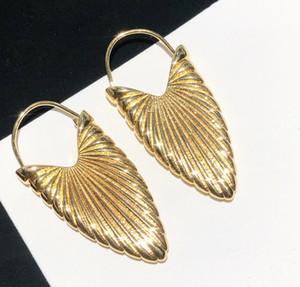 Hot Verkauf von neuen High-End-Custom Hot retro Blatt Ohrringe Frau Ohrringe wilden Trend Persönlichkeit