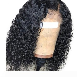 Water Wave Lace Front Wigs Human Hair Pre Plucked With Baby Hair Glueless Peruvian Hair Full Lace Wig Water Wave For Black Women