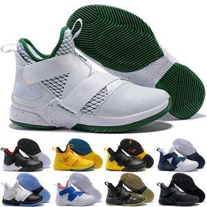 Леброн Солдаты 12 Мужчины Открытый обувь тренер Обучение обуви Athletic Открытый Кроссовки Eur 40-46 Высочайшее качество