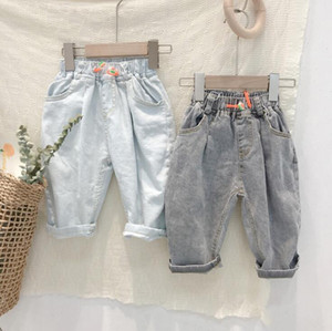 2020 New Arrival Baby Girls Denim Pants Summer Kids Jean Pants 3-8 Years