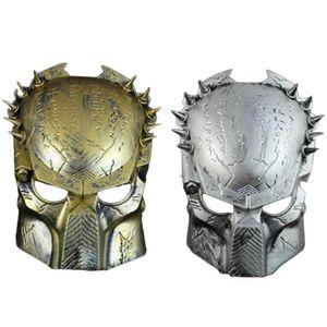 YENI Predator Maske Cadılar Bayramı Korku Masquerade Fantezi Elbise Parti Cosplay Kostüm Cadılar Bayramı GünüParty Için Korkunç Maske