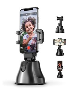 360 degree Object Tracking Holder Auto Smart Phone Holder Selfie Shooting Gimbal Stick Photo vlog Camera Live Video Record stand