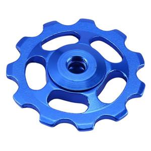 2 pcs 11T Liga de Alumínio Ultraleve Ao Ar Livre MTB Bicicleta Rolamento Jockey Wheel Desviador Traseiro Polias Peças Da Bicicleta