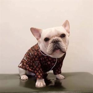 Klasik Baskılı Evcil Gömlek High Street Kişilik Charm Pet T-shirt All Seasons Retro Bulldiog pijamalar Kıyafet
