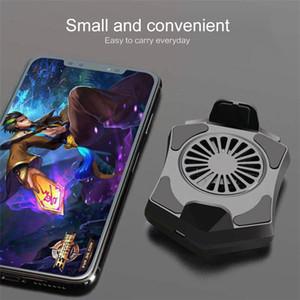 Mobiltelefonkühler Lüfterhalter Kühlkissen Gamepad Android Gaming Shooter Mute Kühler Controller Kühlkörper Universal Port