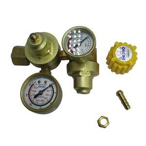 Metri Doppia Argon Regulator -Saldatura Argon gas misuratore di portata, pressione ridotta Meter, 3Types