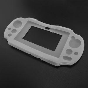 Cubierta de goma suave de silicona de colores Fundas Ultra Thin para PSP VITA 2000 Caja protectora de la piel del gel Leather para ps vita 2000