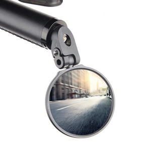 1 unids ajustable bicicleta plegable retrovisor espejo ciclismo montaña carretera bicicleta ajustable claro vista trasera espejo accesorios de bicicleta