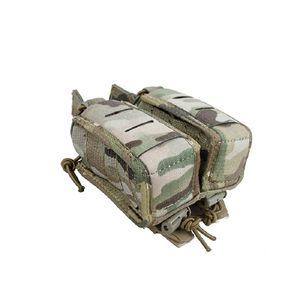 Tmc3361-mc nueva táctica accesorio bolsa de 40mm estancia doble bolsa de Dan con MOLLE cinta de liberación rápida