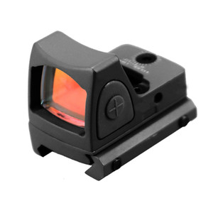 Tactical Red Dot Sight Collimator For Pistol Airsoft Hunting Rifle Reflex Sight Scope With 20mm Weaver Picatinny Rail Mount.