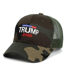 DHL shipping Donald Trump 2020 Baseball Cap Make America Great Again Hats Letter Embroidery keep America Great Trump Camouflage Caps L238FA