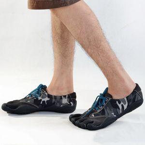 Männer Frauen Outdoor Wandern Fitness 5 Zehen Schuhe Sommer-Strand Barfuß Upstream Schuh Tarnung Turnschuhe Klettern Schwimmen Watschuhe