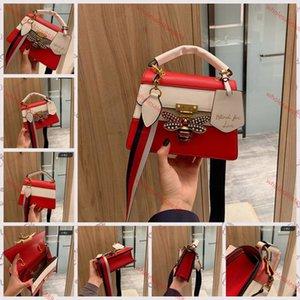 Gucci Little bee bag 2020 الجديدة Trenadorab فاخرة حقائب الماس تصميم حقيبة يد نسائية أزياء النحل xshfbcl رسول حقيبة العلامة التجارية نمط بو الجلود أنثى الكتف حقيبة