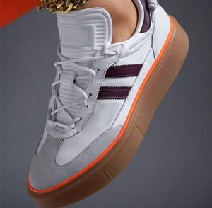 2020 nouvelle haute qualité beyonce Ivy mode de concepteur de parc super luxe élégant 72 femmes chaussures plate-forme gris blanc chaussures de sport occasionnels chaussures de conseil