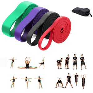 6 Уровень йоги Диапазоны для Растяжение Loop Resistance Bands Фитнес Обучение тросовые Резинки Йога Упражнения Gym Expander T191216