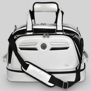 Golf Vestuário Bag dupla camada segure um par sapatos de golfe Bolsa Boston