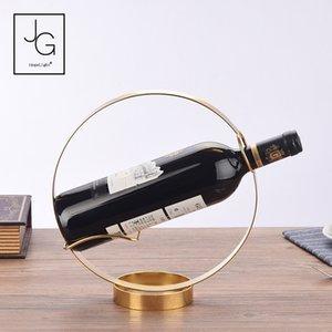 I titolari Vino Rosso Rack hotel bottiglia di visualizzazione creativa titolari Rack europeo Bar Uva regalo di Natale