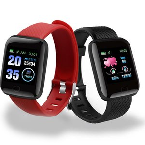 Smart Watch 116 Plus Waterproof Smartwatch D13 Heart Rate Smart Watches Men Fitness Tracker Smart Wristbands Blood Pressure Pedo