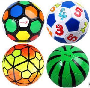 Soccer Ball Final Pu Size2 Balls Internal explosion-proof material durable Football High Quality Cute cartoon football for children