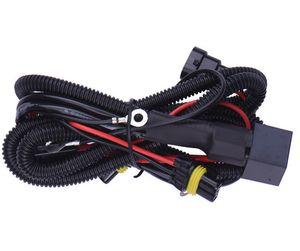 Alta qualidade! H1 H7 H8 H11 9006 Farol Ampolas Car fortalecer fiação Harness, HID xenon Controlador Cabo Relé Harness
