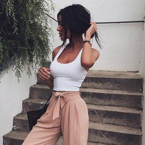 2020 Primavera E Verão Quente de venda Mulheres vestido dos New Style Sexy de cintura alta Navel Wear Top Casual