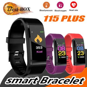 ID 115 PLUS 스마트 워치 ID115 PLUS 심박수 모니터 혈압 피트니스 트래커 Smartwatch Sport Watch for ios android smart bracelet
