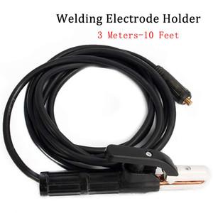 Porte-électrode de soudage de 3 mètres pour soudeuse MMA / ARC pouvant supporter jusqu'à 300 A