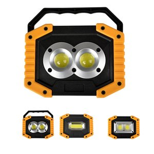 Outdoor Portable 30W COB LED Light Emergency USB Lamp Searchlight Vehicle Maintenance Camping Lamp