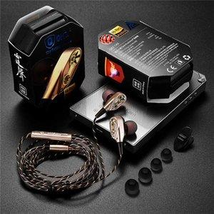 QKZ CK8 7D HiFi in-Ear Earphone Wired Dual Dynamaic Driver Super Bass Stereo Headset For iphone samsung